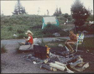 My brother and I in Yellowstone park in 1984. I'm the one in the cowboy hat. Don't hold that against me.